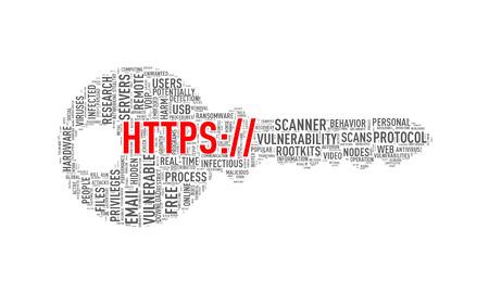 Illustration of key shape wordtags wordcloud of https