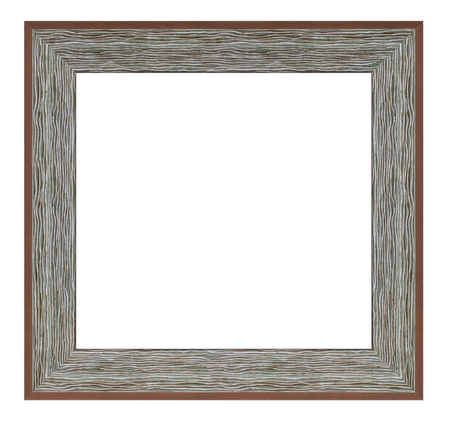 Vintage frame on a white background, isolated