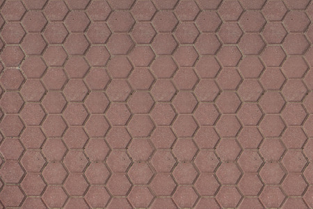 hexagon floor plates texture 免版税图像