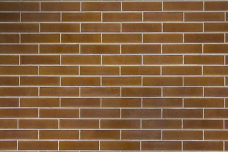 Wall bricks reddish horizontal texture 写真素材