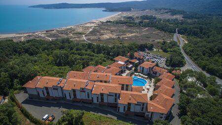 Aerial view of Arkutino resort