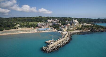 Aerial view of Dyuni resort, Bulgaria Editorial