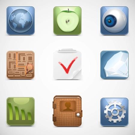 universal web vector icons Illustration