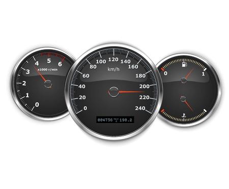 vector car speedometer