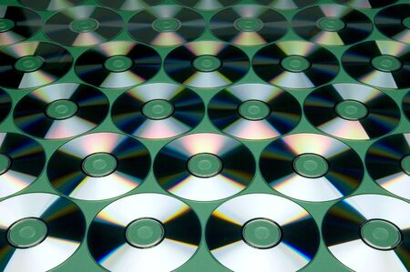 diskdrive: Pattern of CDs