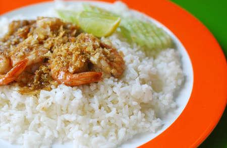 stirred: Thai Food Stirred Shrimp with Garlic