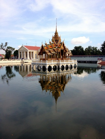 Bang pa-in  ayutthaya thailand