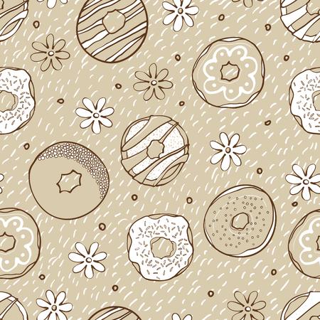 rotund: donuts pattern