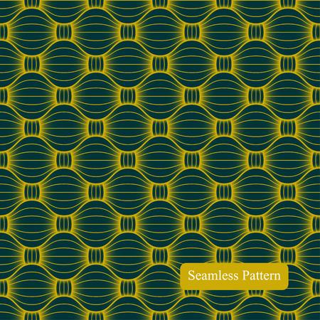 fabric art: Abstract geometric seamless pattern. Vector illustration.