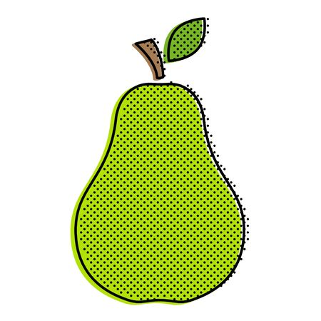 685 Stylized Pear Stock Vector Illustration And Royalty Free ...