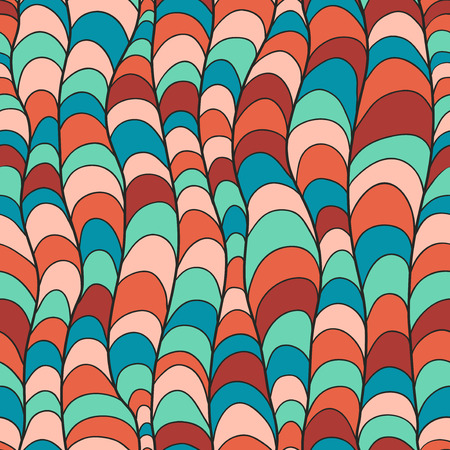 handdrawn: Hand-drawn seamless pattern Stock Photo