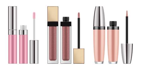 Mock-up von realistischem Lipgloss