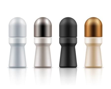 Roll on antiperspirant deodorants packages
