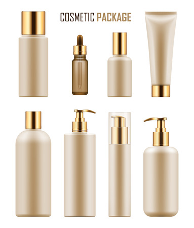 Package for luxury cosmetic product.