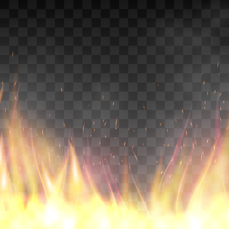 fiery: Cool Vector realistic fiery design template.