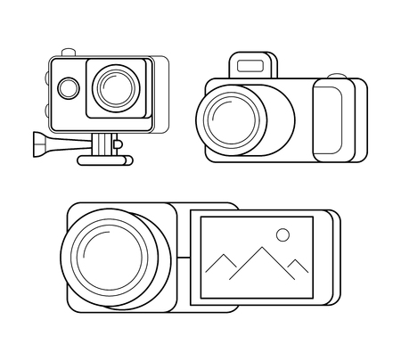 137 Gopro Stock Illustrations Cliparts And Royalty Free Gopro Vectors