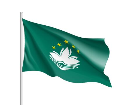 macau: Vector national flag of Macau.
