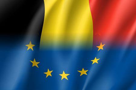 Symbol Belgium is EU member.