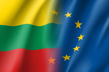 european culture: Symbol Lithuania is EU member.