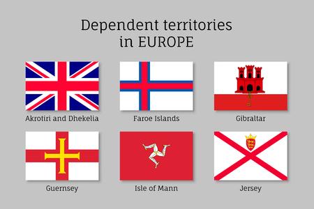 territories: Dependent territories flag