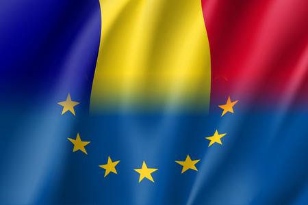 Symbol Romania is EU member.