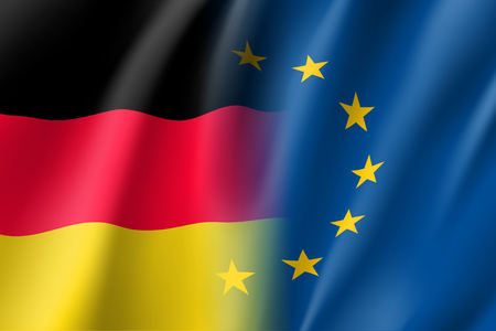 european culture: Symbol Germany is EU member.