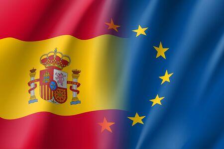Symbol Spain is EU member.