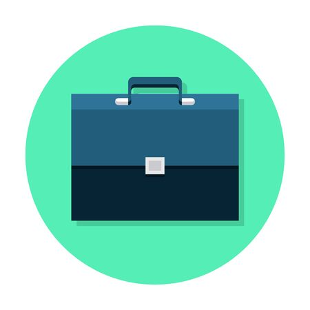Briefcase flat icon