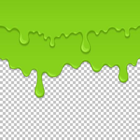 Green sticky liquid seamless element