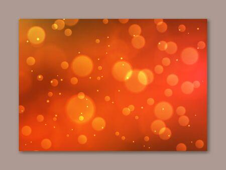 Beautiful blurred background in orange and yellow