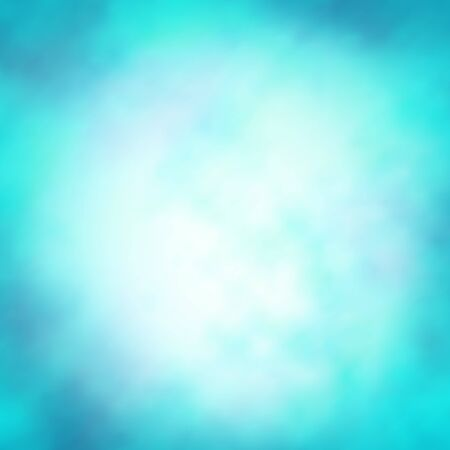 Winter sky glitter lights backdrop. Blurred light blue background. Merry Christmas and Happy New Year banner decoration. Abstract defocused wallpaper vector illustration. Festive luminous design Illustration