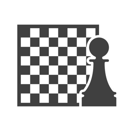 Black chess   vector template