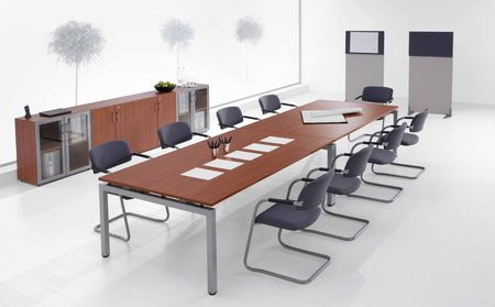 furtherance: meeting room Stock Photo