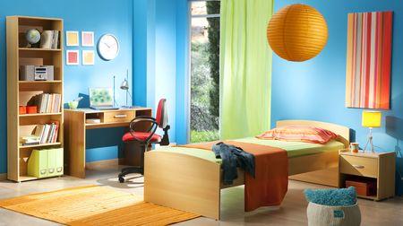 chambre à coucher: enfant