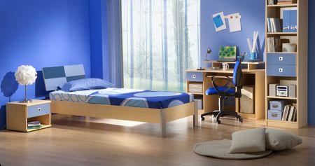 bedroom interior: kid
