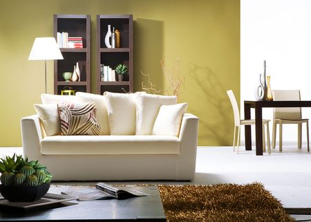 modern living room inters Stock Photo - 12358684
