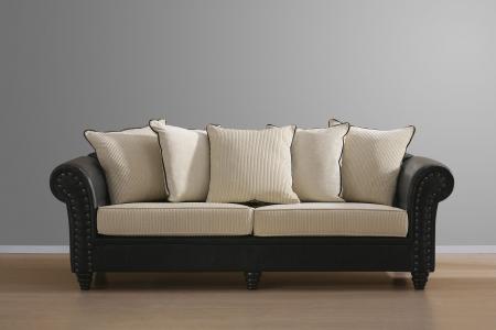 divano: divano d'epoca Archivio Fotografico