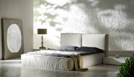 new-classic bedroom Archivio Fotografico