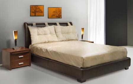 minimal bedroom ,  Stock Photo