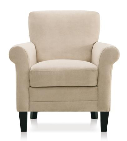 カットアウト ビンテージ肘掛け椅子 写真素材