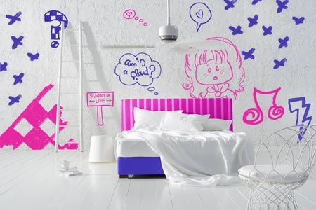 kid s bedroom Stock Photo - 12521317