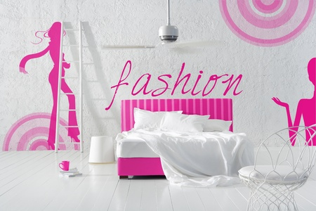 fashion bedroom Stock Photo - 12521272