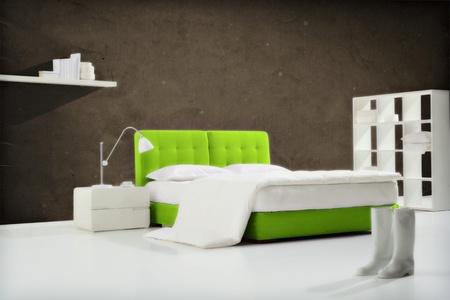 industrial bedroom Stock Photo - 12514968