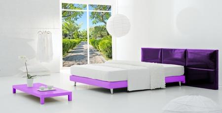 minimal bedroom photo