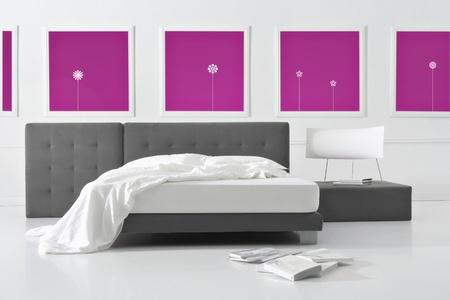 minimal bedroom Stock Photo - 12521155