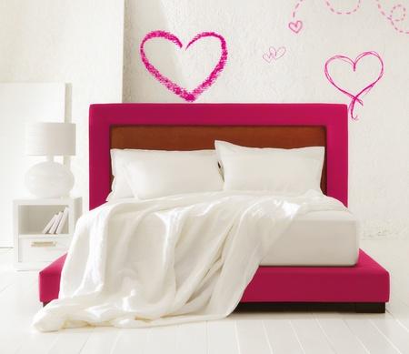 ベッドルームを愛する