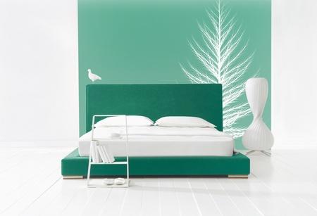 staying in shape: winter minimal bedroom