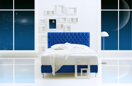 galaxy bedroom photo