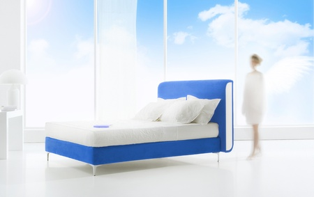 heaven bedroom background photo