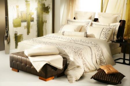 artistic bedroom Stock Photo